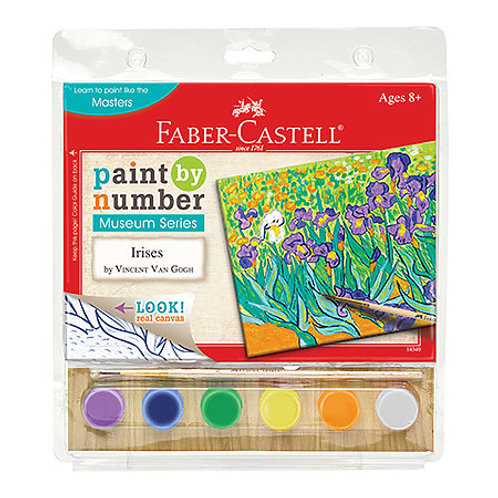 Paint By Numbers Museum Series Kits - Irises