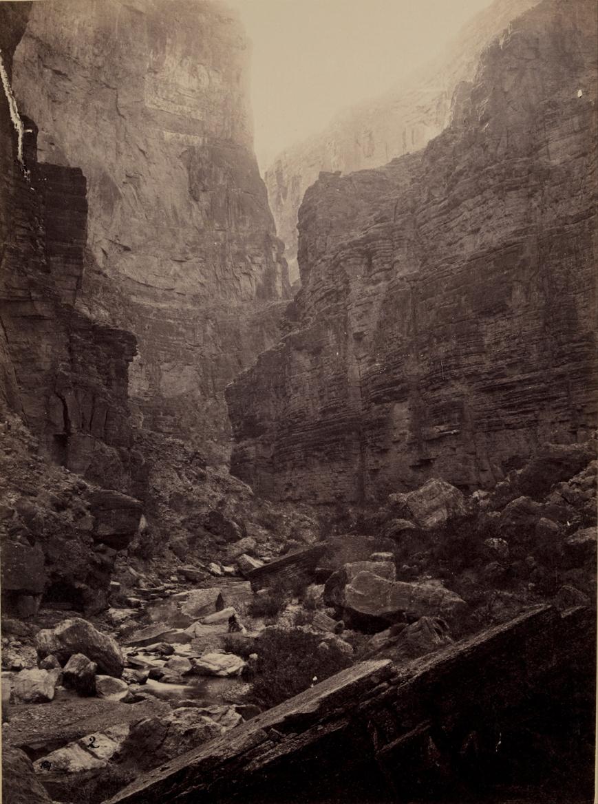 Cañon of Kanab Wash, Colorado River