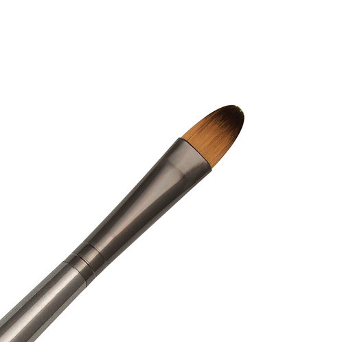 Zen Series 73 Synthetic All Media Short Handle Brush - Filbert 10