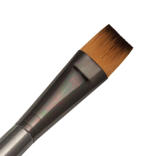 Zen Series 73 Synthetic All Media Short Handle Brush - Wash 3/4