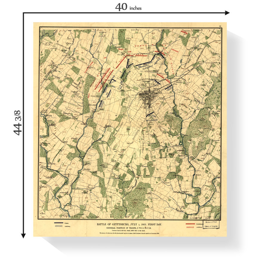 Gettysburg Battle Map on scranton on map, appomattox on map, atlanta on us map, pierre on map, chancellorsville on map, underground railroad on map, fairfield on map, port hudson on map, vicksburg on map, fort sumter on map, penn hills on map, shay's rebellion on map, cumberland county on map, allegheny national forest on map, antietam on map, huron on map, paradise on map, mount carmel on map, kadoka on map, hershey on map,