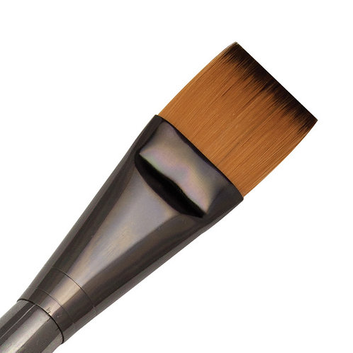 Zen Series 73 Synthetic All Media Short Handle Brush - Wash 1