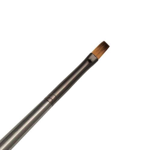 Zen Series 73 Synthetic All Media Short Handle Brush - Flat Shader 4