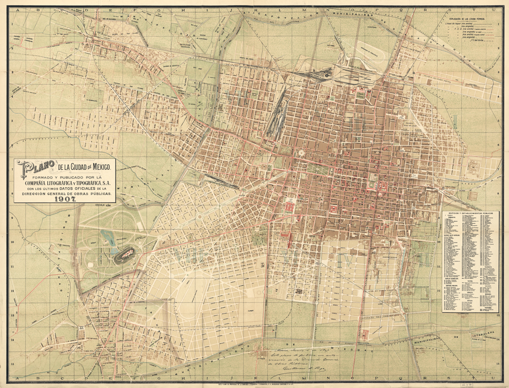Plano, Mexico 1907