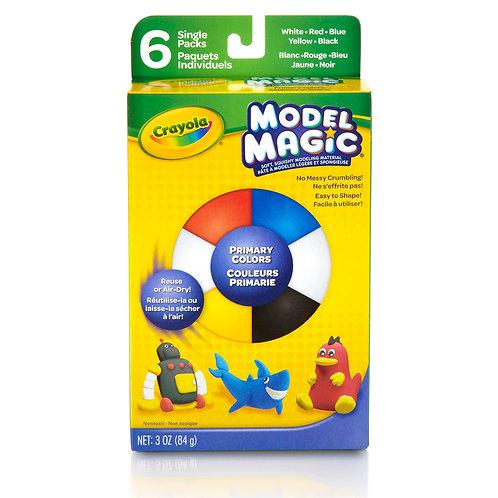 Crayola Model Magic - Primary Colors 6 Count