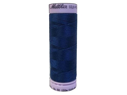 Mettler Silk Finish Cotton Thread 50 wt. 164 yd. #0024 Colonial Blue