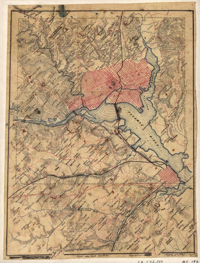 D.C. Civil War Map