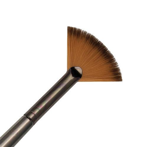 Zen Series 73 Synthetic All Media Short Handle Brush - Fan Blender 4