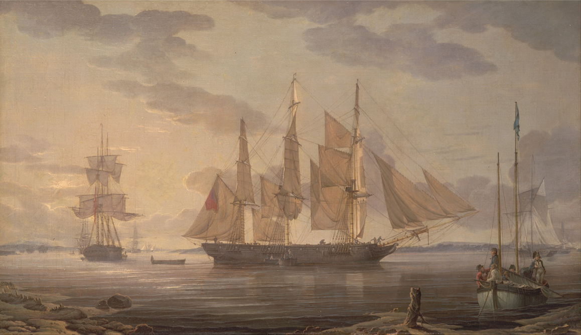 Ships in Harbor
