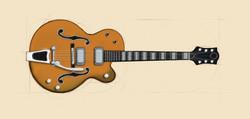 Sketch of Guitar