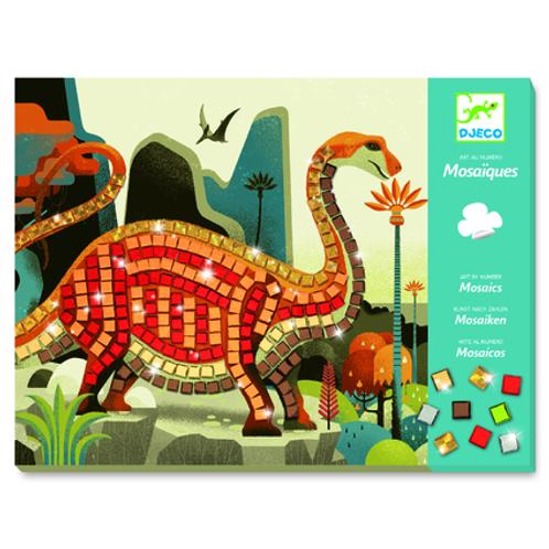 DJECO Mosaics Petit Kits - Dinosaurs