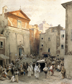 Funeral in Palestrina