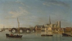 The Building of Westminster Bridge