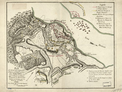 French Map of Yorktown