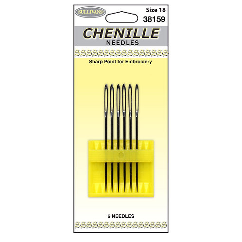 Embroidery Needles - Chenille Needles size 18 - 6/Pkg