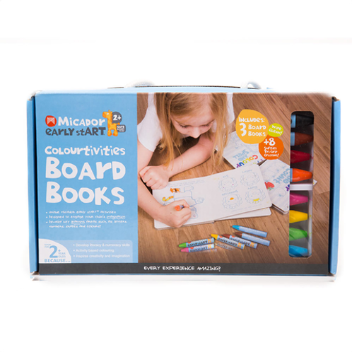 Micador Early Start Colortivities Board Book Pack