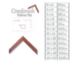 Time Capsule Framing Cranbrook Walnut Flat Frame and Price