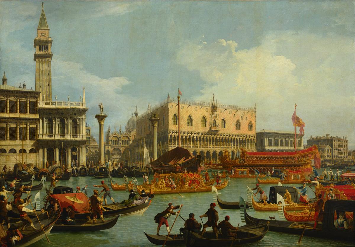 Bucentaur's Return to the Pier