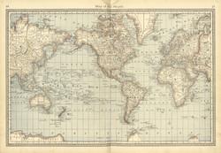 World Map Pre-World Wars
