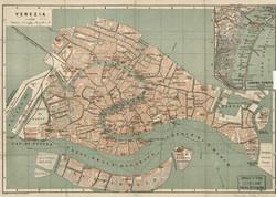 Map of Venice 1886