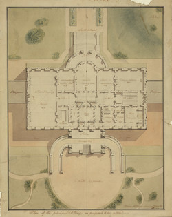 Early White House Blueprints