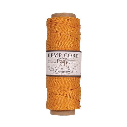Hemptique Hemp Cord Spool - 10 lb. Gold