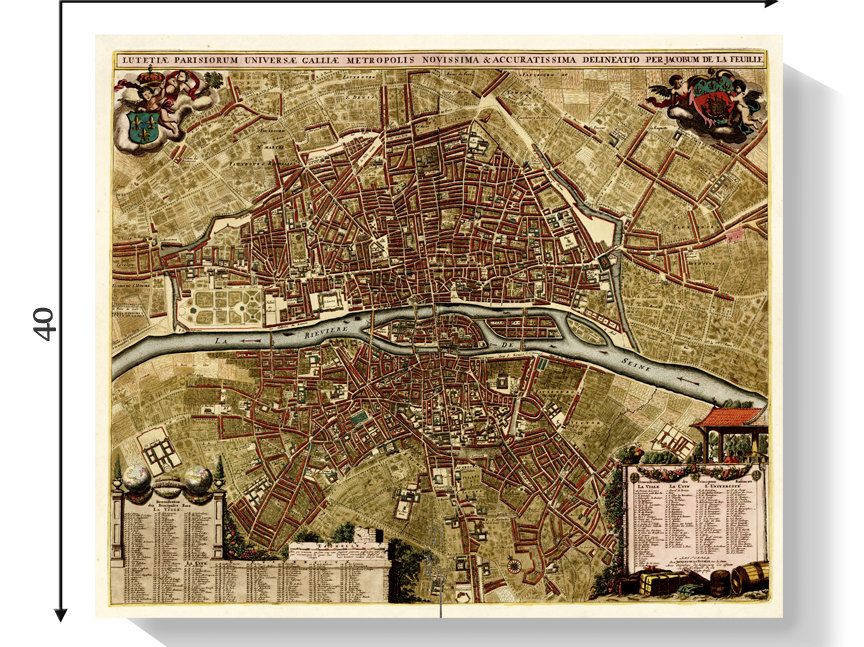 Medieval Map Of France.Medieval Map Of Paris