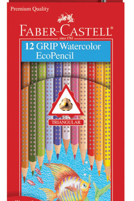 GRIP Watercolor EcoPencils Sets - 12 Pencil Set