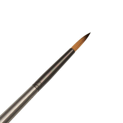 Zen Series 73 Synthetic All Media Short Handle Brush - Round 5