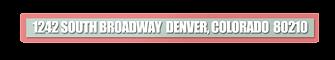 Time Capsule Framing Address Denver Colorado