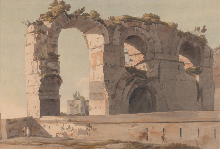 The Claudian Aquaduct, Rome