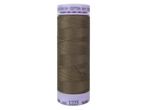 Mettler Silk Finish Cotton Thread 50 wt. 164 yd. #1223 Pecan