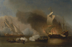 An Action Off the Barbary Coast