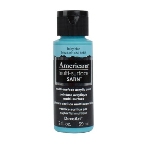Americana Multi-Surface Satin  -Baby Blue