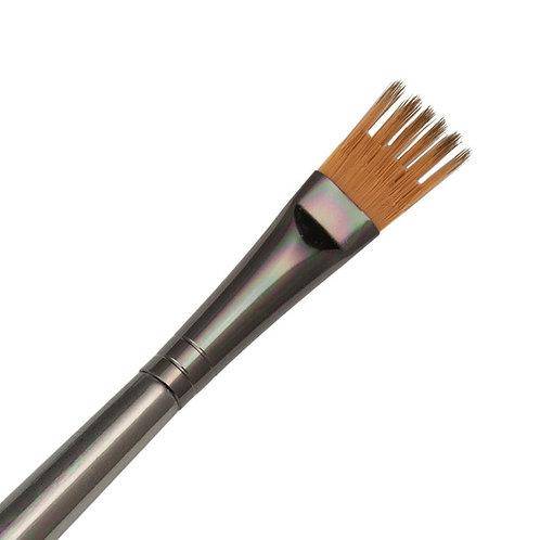 """Zen Series 73 Synthetic All Media Short Handle Brush - Filbert Wisp 1/4"""""""
