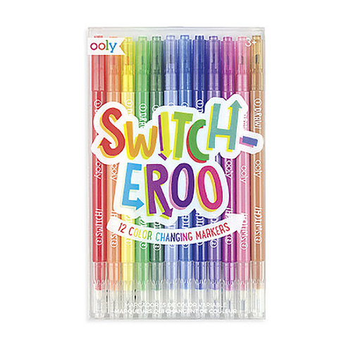 OOLY Switch-eroo Color Changing Marker Set