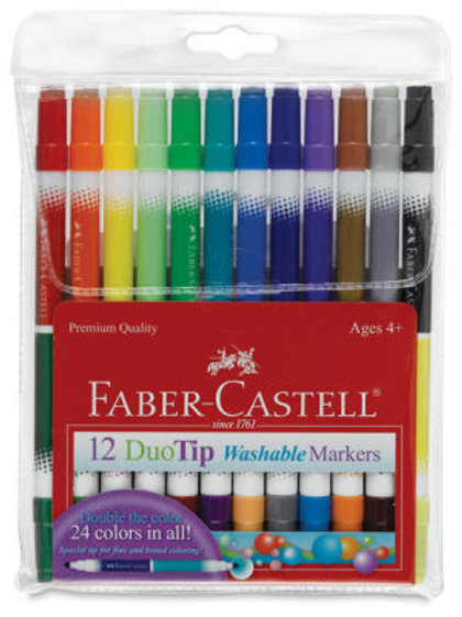 DuoTip Washable Markers Set