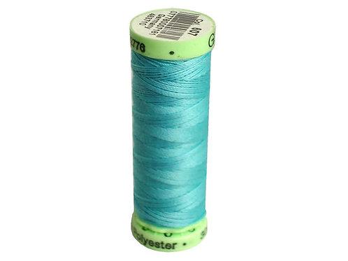 Gutermann Top Stitch Heavy Duty Thread 33 yd. #607 Crystal Blue