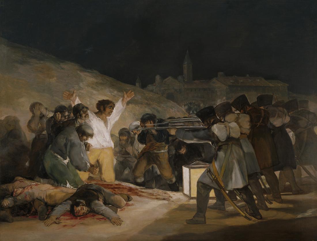 El Tres de Mayo de 1808 en Madrid