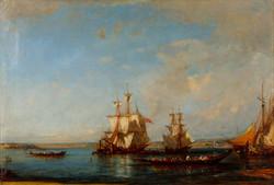 Caiques and Sailboats