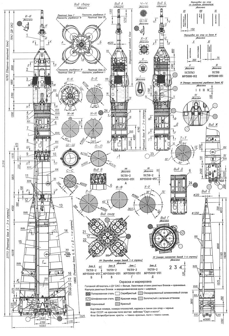 Rocket Blueprints