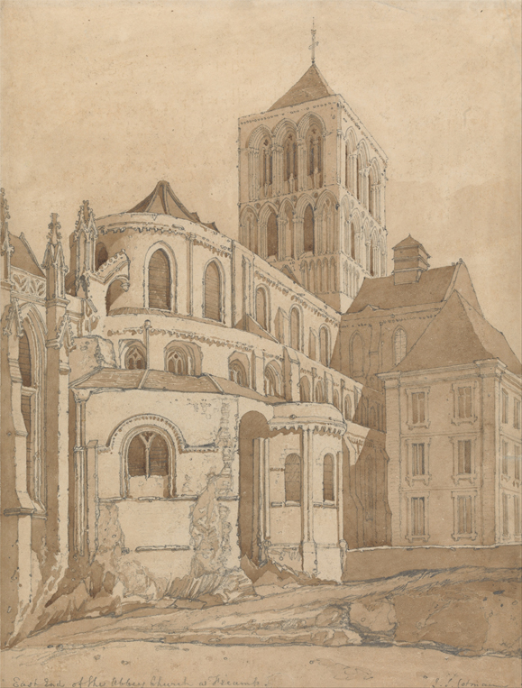 Abbey Church at Fecamp, Normandy