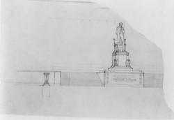Concept Sketch of Lincoln Memorial 1