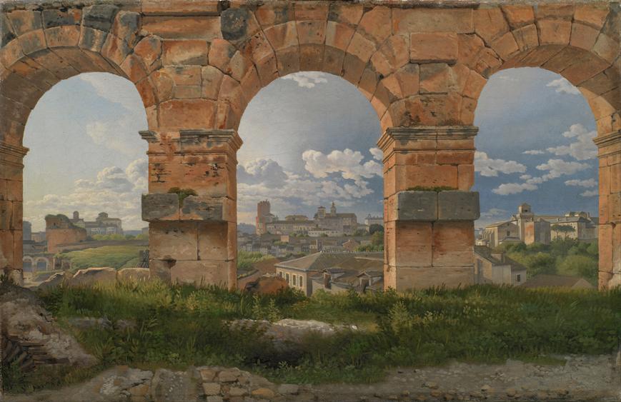 A View Through Three Arches