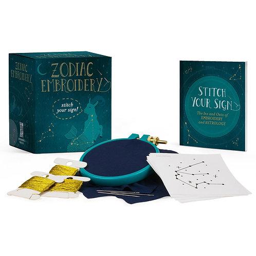 Zodiac Embroidery Kit Mini Edition