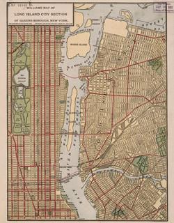 Map of Queens