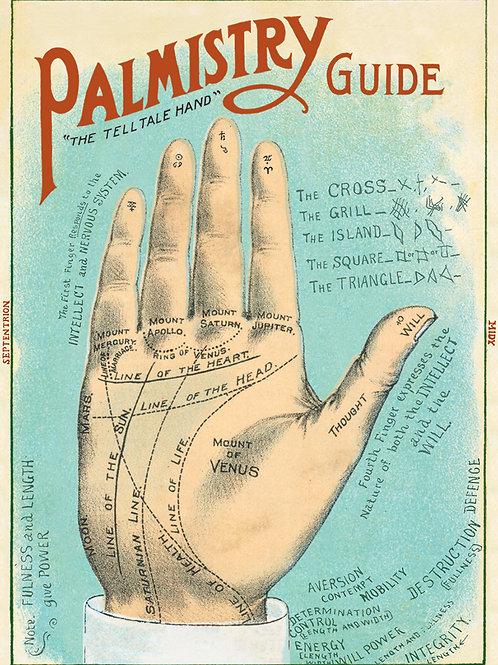 Decorative Italian Papers - Palmistry