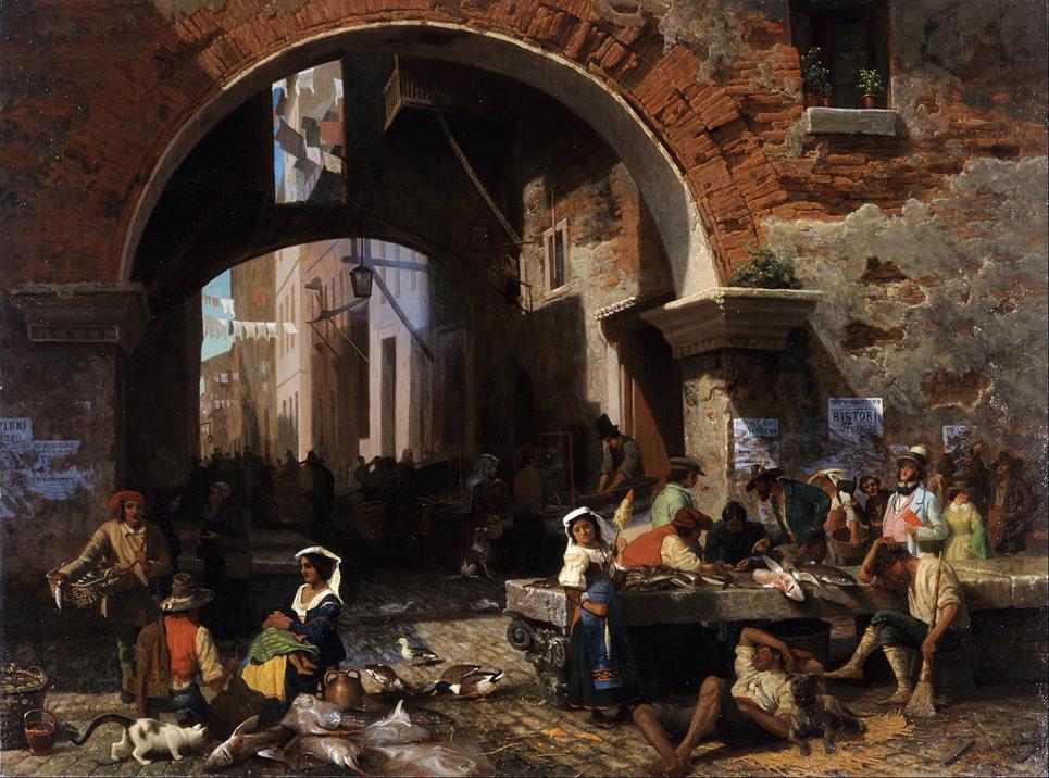 Roman Fish Market
