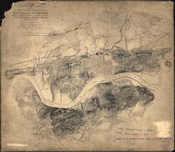 Knoxville Civil War Map