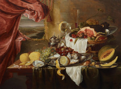 Still Life with Imaginary View